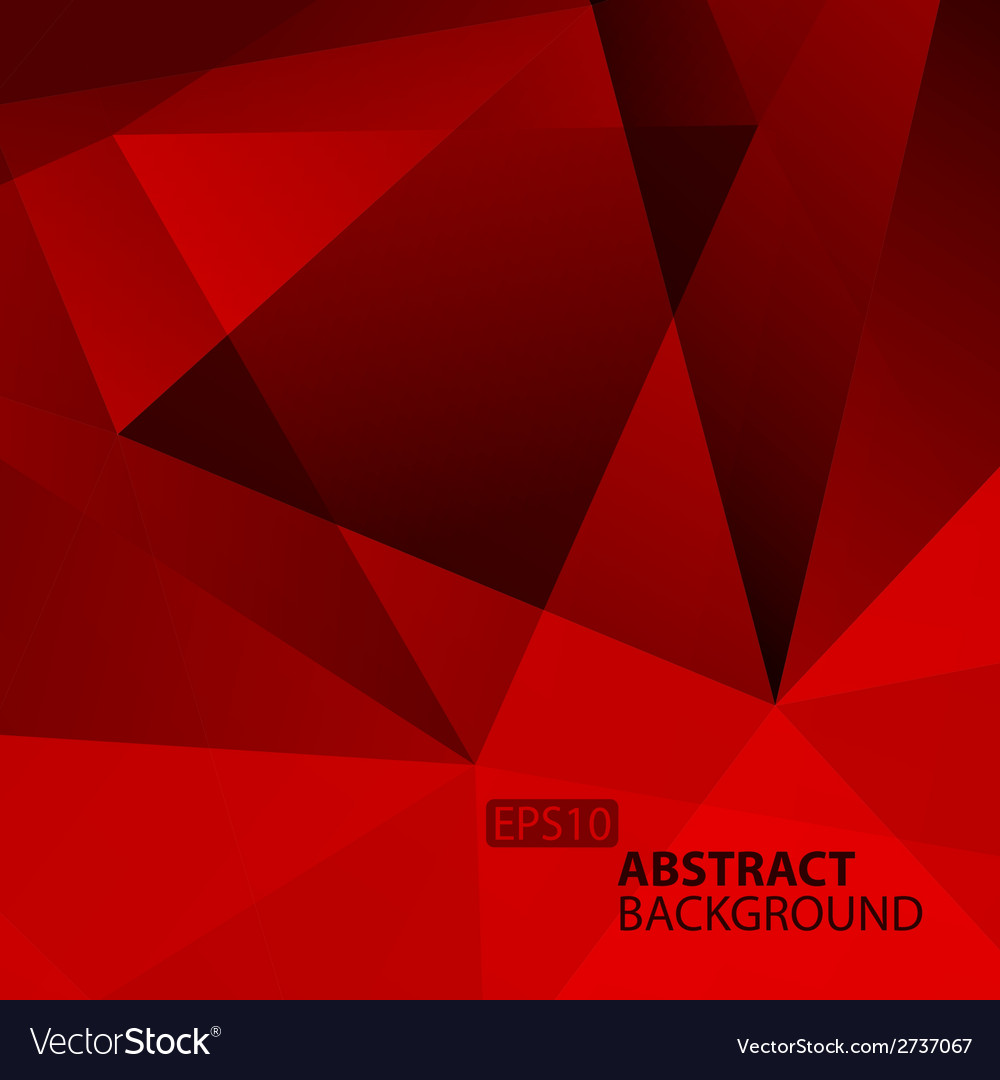 Abstract dark red geometric background vector | Price: 1 Credit (USD $1)