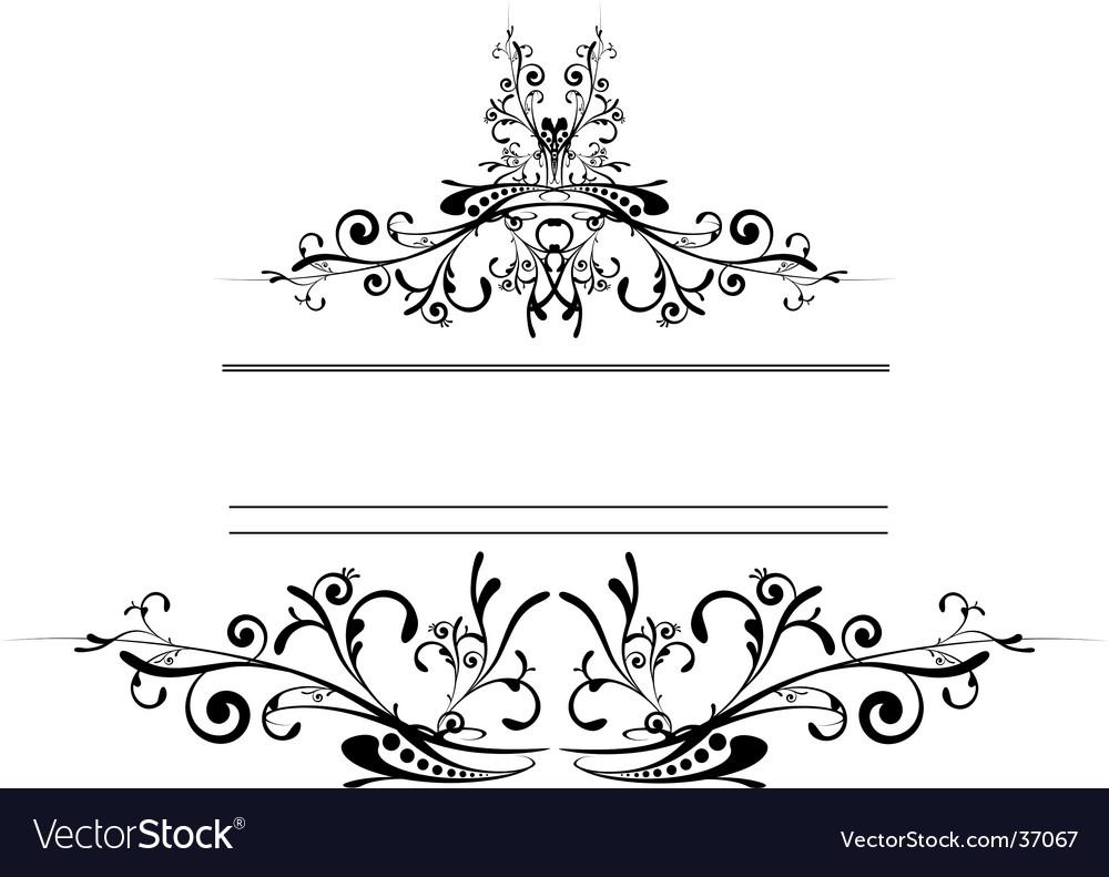 Floral logo shield vector   Price: 1 Credit (USD $1)