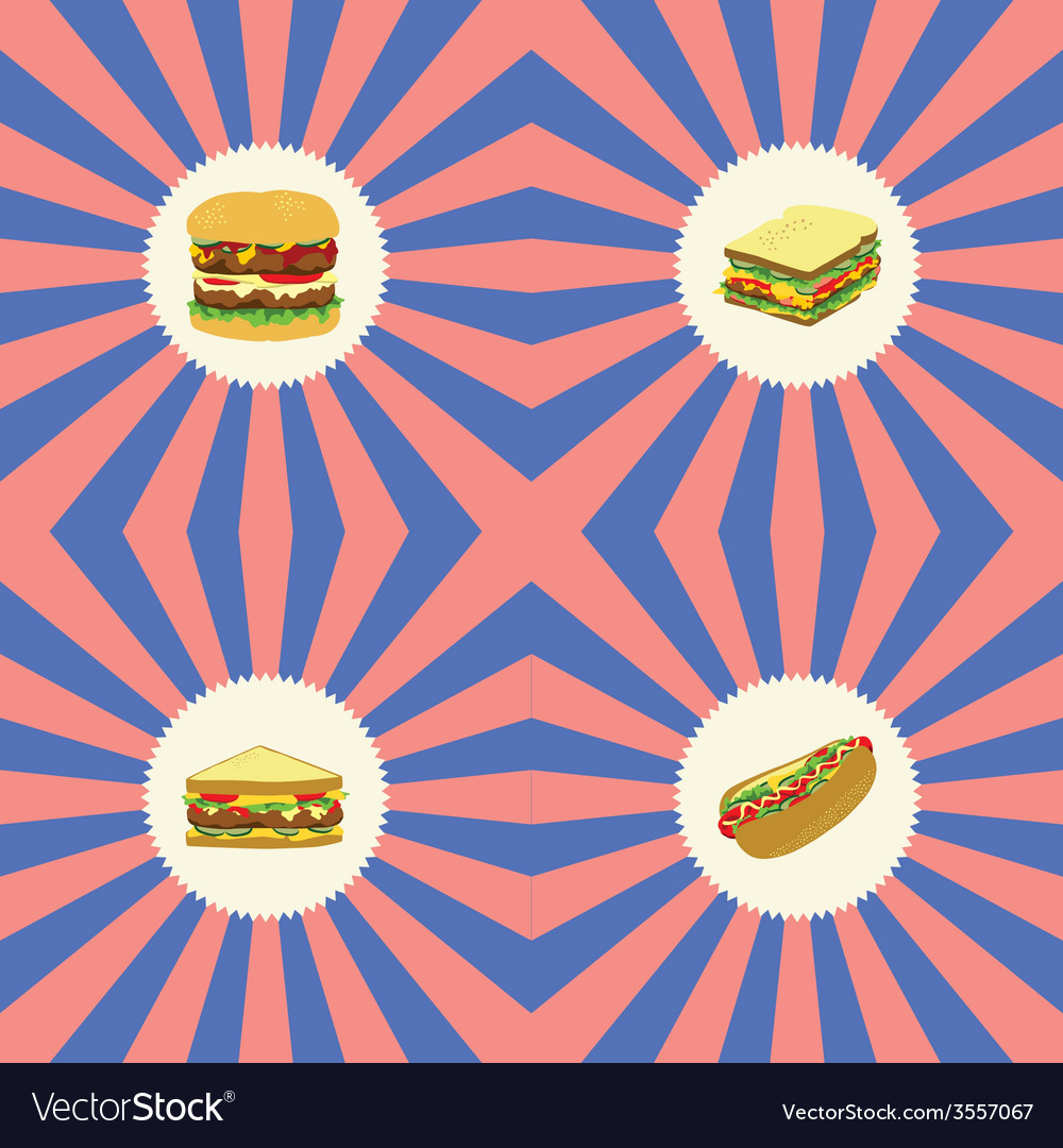 Food and drink theme vector | Price: 1 Credit (USD $1)