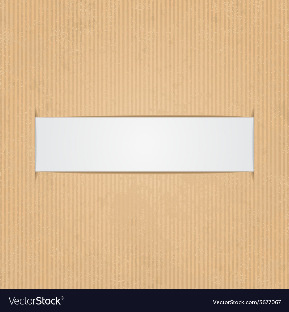 White paper label vector | Price: 1 Credit (USD $1)