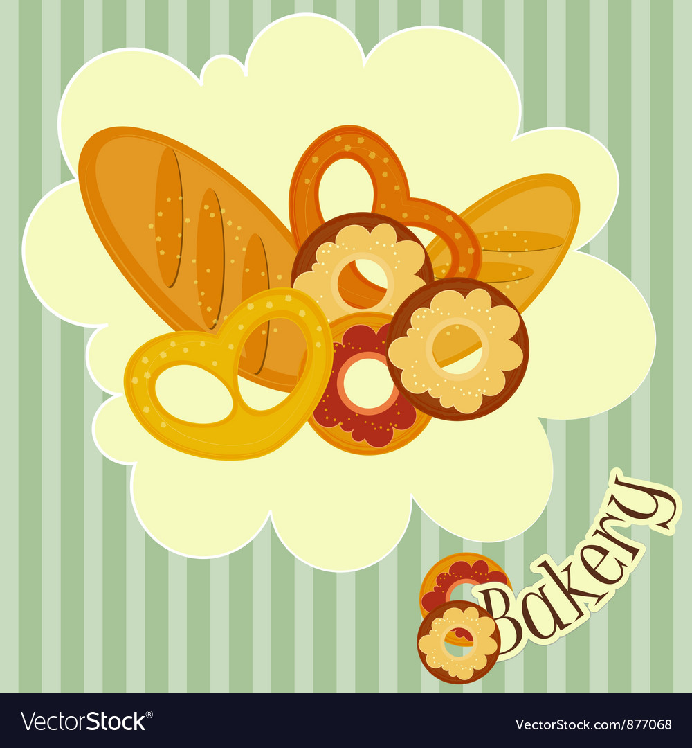 Cover menu for bakery vector | Price: 1 Credit (USD $1)