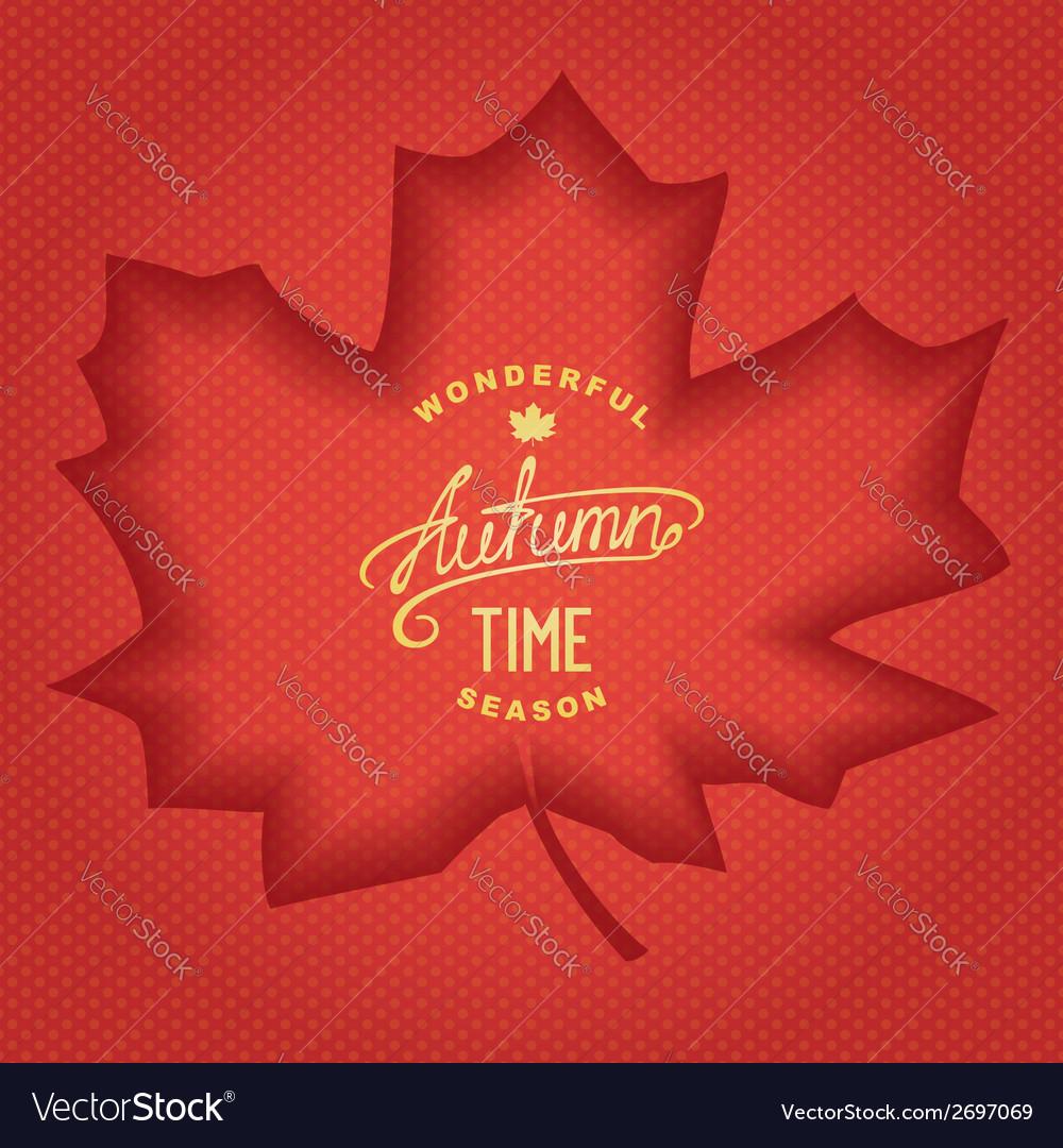 3d autumn banner vector   Price: 1 Credit (USD $1)