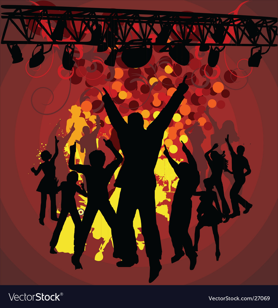 Concert background vector | Price: 1 Credit (USD $1)