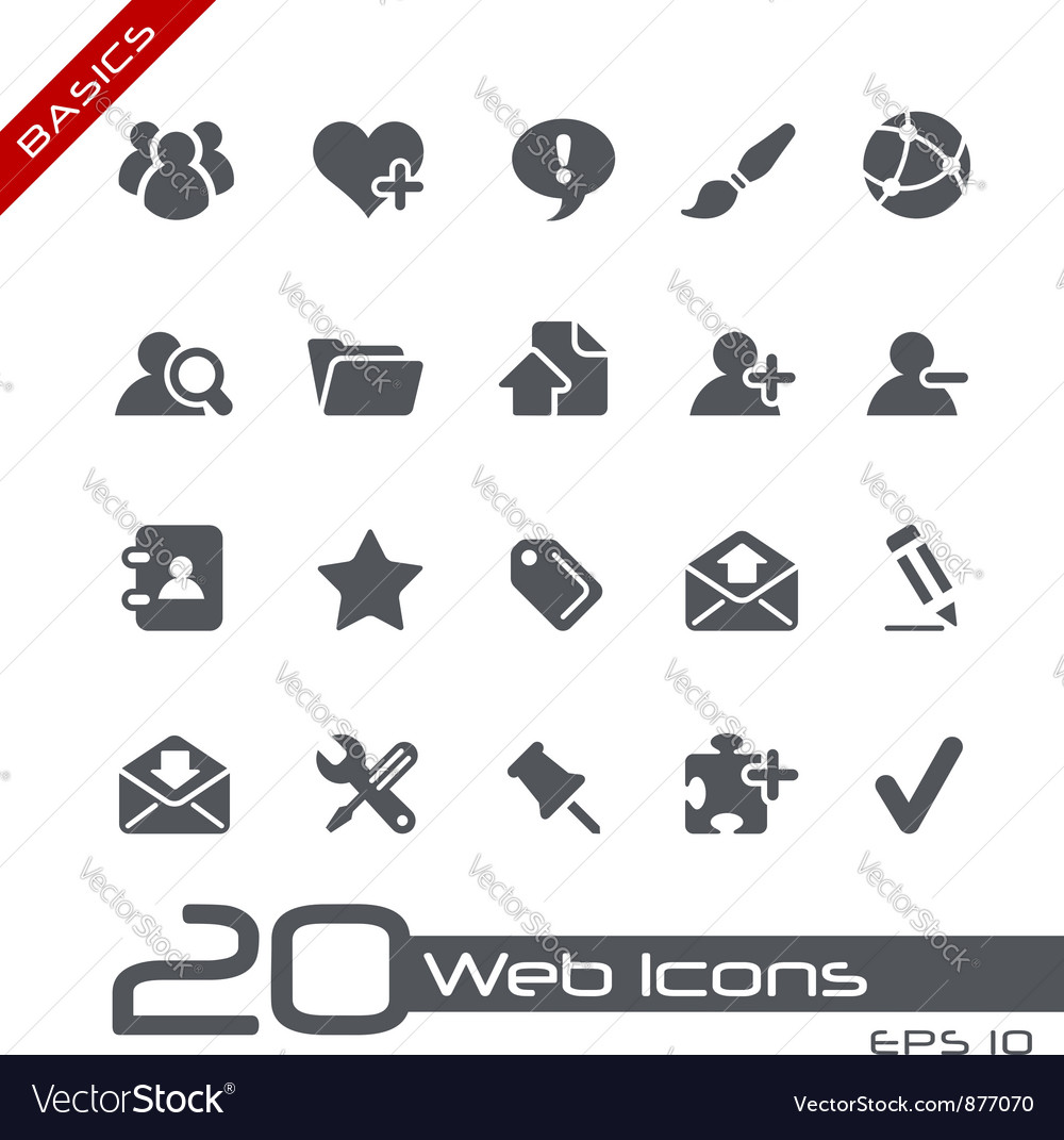 Blog internet basics series vector | Price: 1 Credit (USD $1)