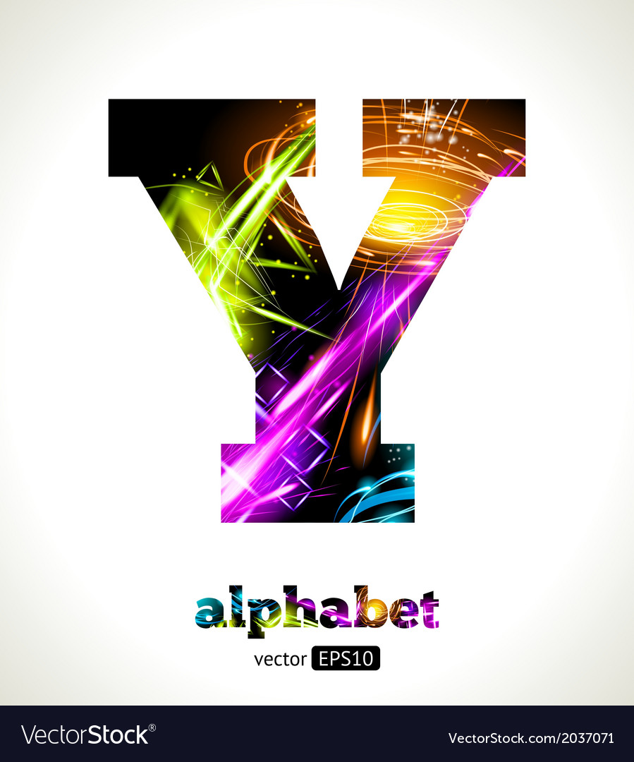 Design abstract letter y vector | Price: 1 Credit (USD $1)
