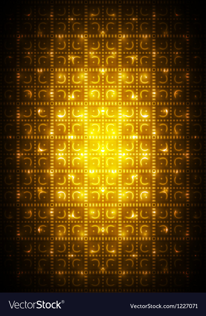 Digital yellow background vector | Price: 1 Credit (USD $1)