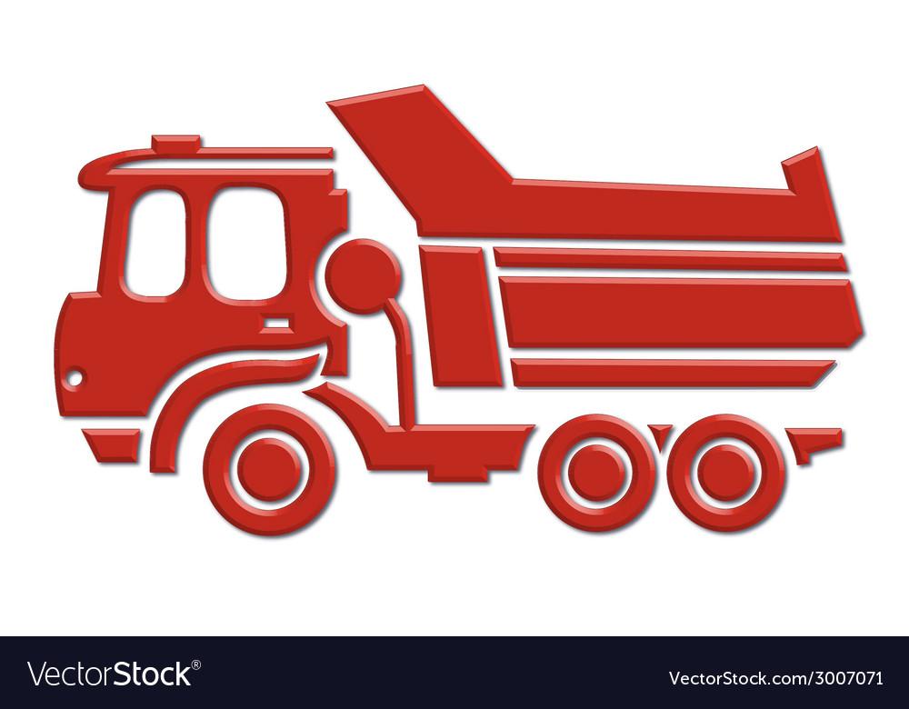 Heavy car icon vector | Price: 1 Credit (USD $1)