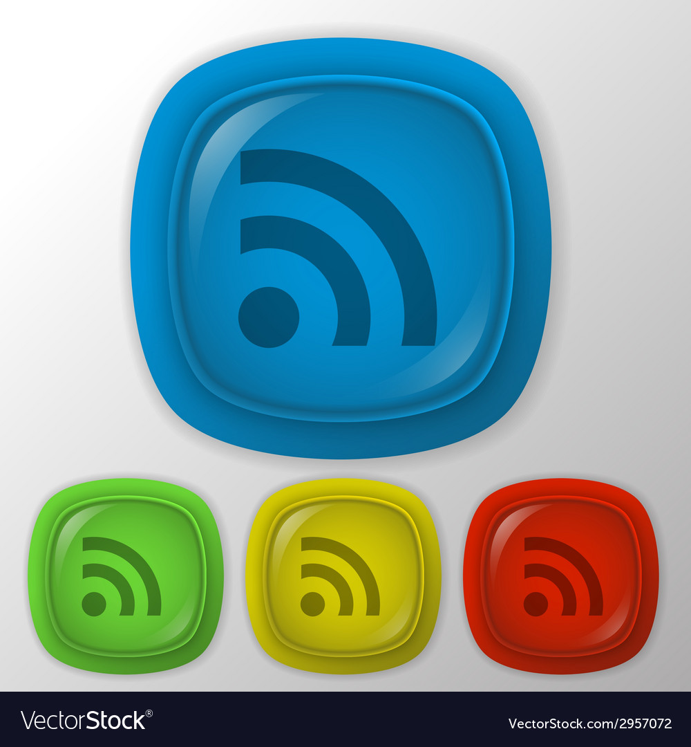 Rss symbol vector | Price: 1 Credit (USD $1)