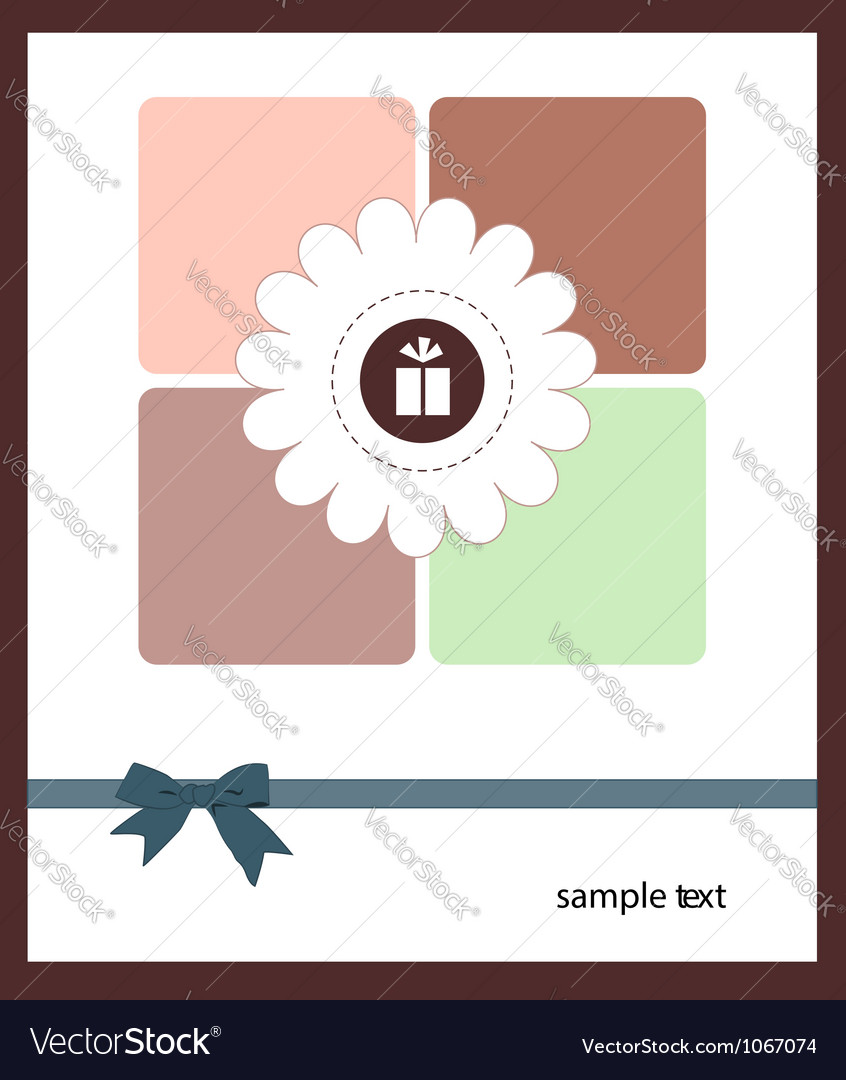 A nice card for your holiday vector | Price: 1 Credit (USD $1)