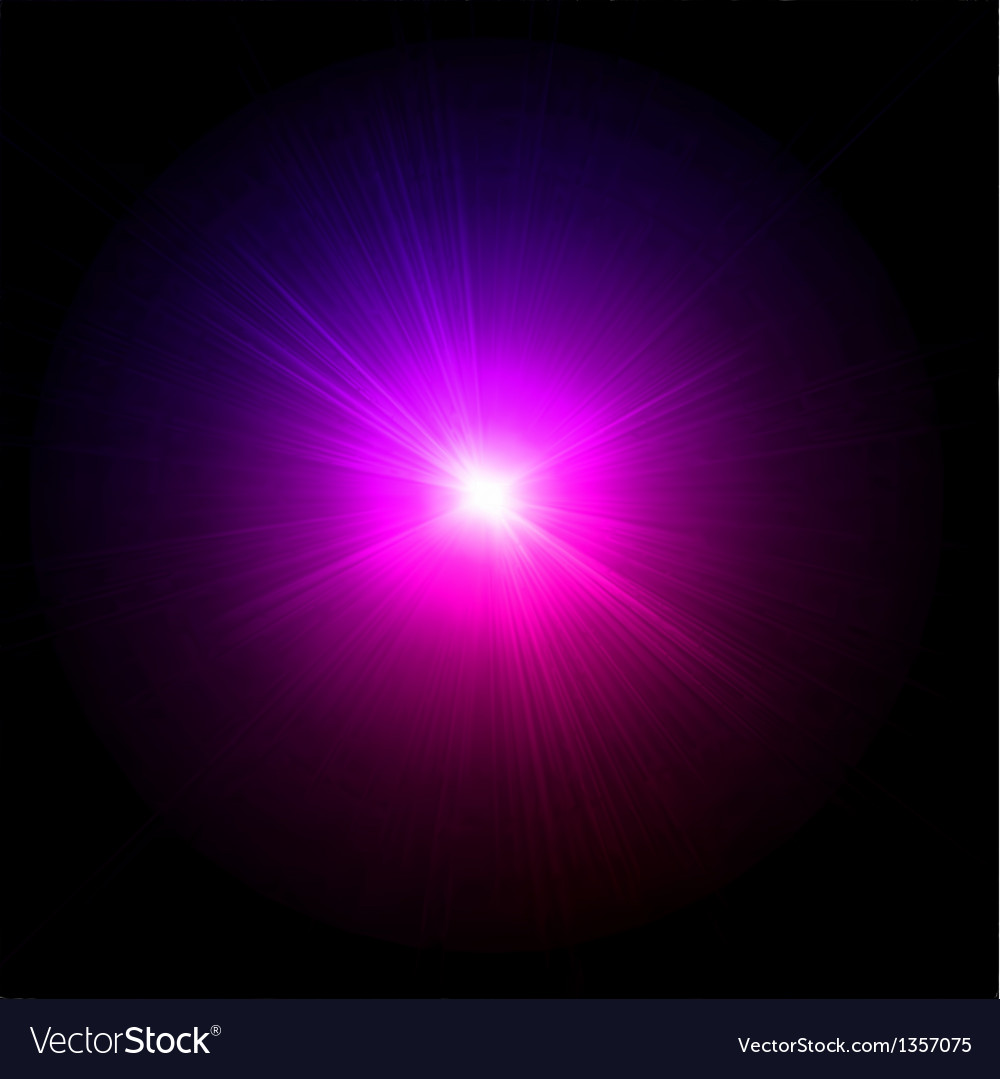 Light flare pink effect vector | Price: 1 Credit (USD $1)