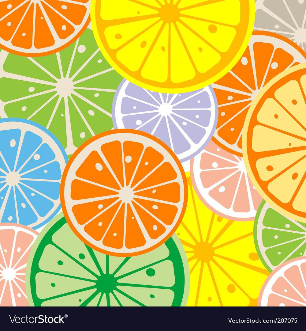 Seamless lemon vector | Price: 1 Credit (USD $1)