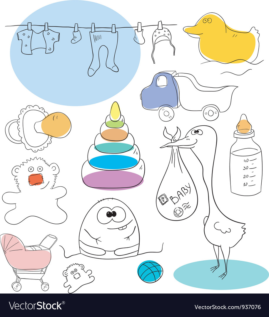 Baby collection vector   Price: 1 Credit (USD $1)