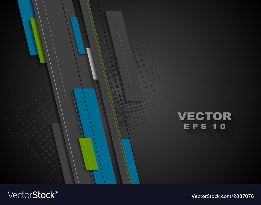 Dark tech background vector | Price: 1 Credit (USD $1)
