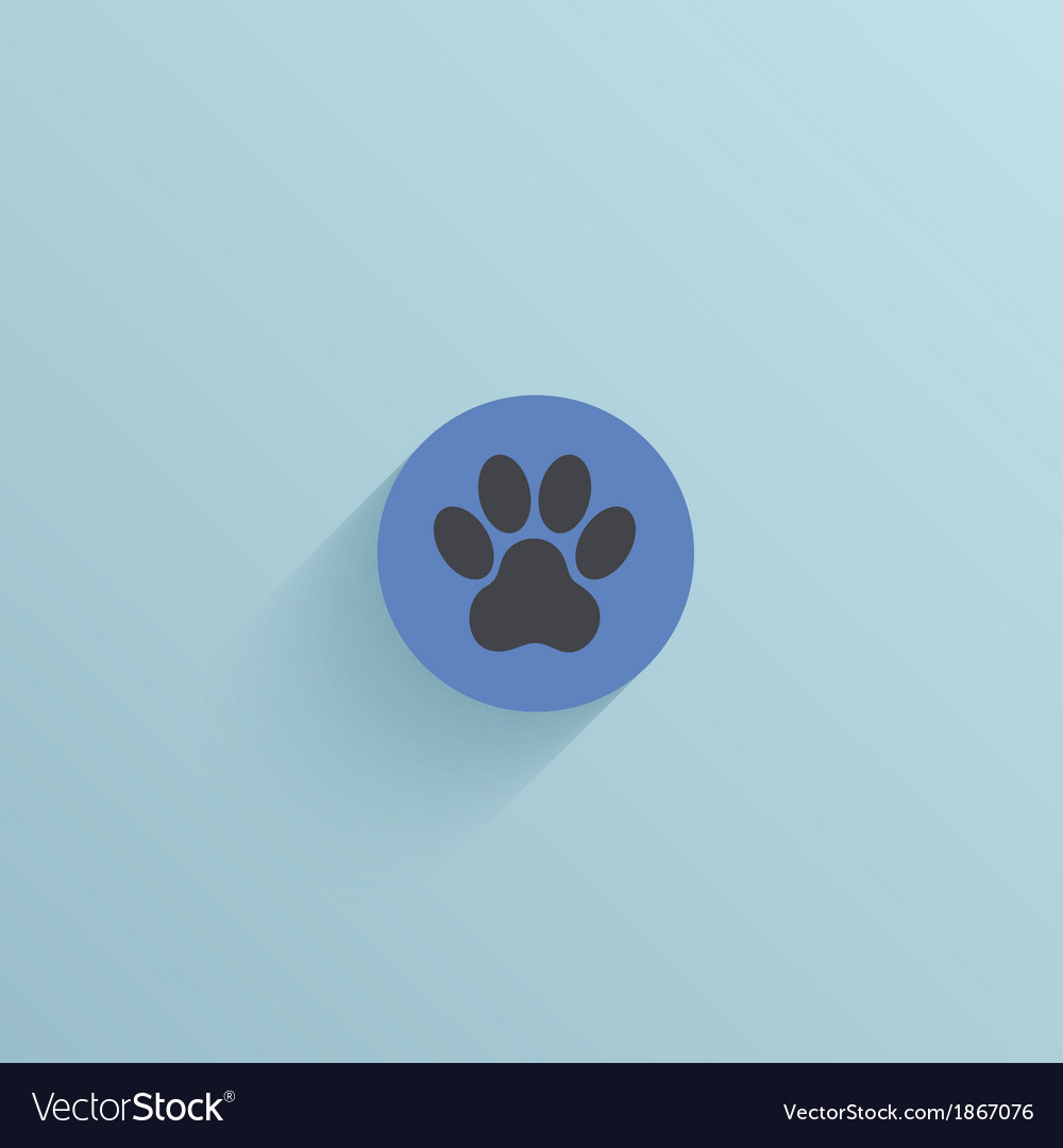 Flat circle icon on blue background eps10 vector   Price: 1 Credit (USD $1)