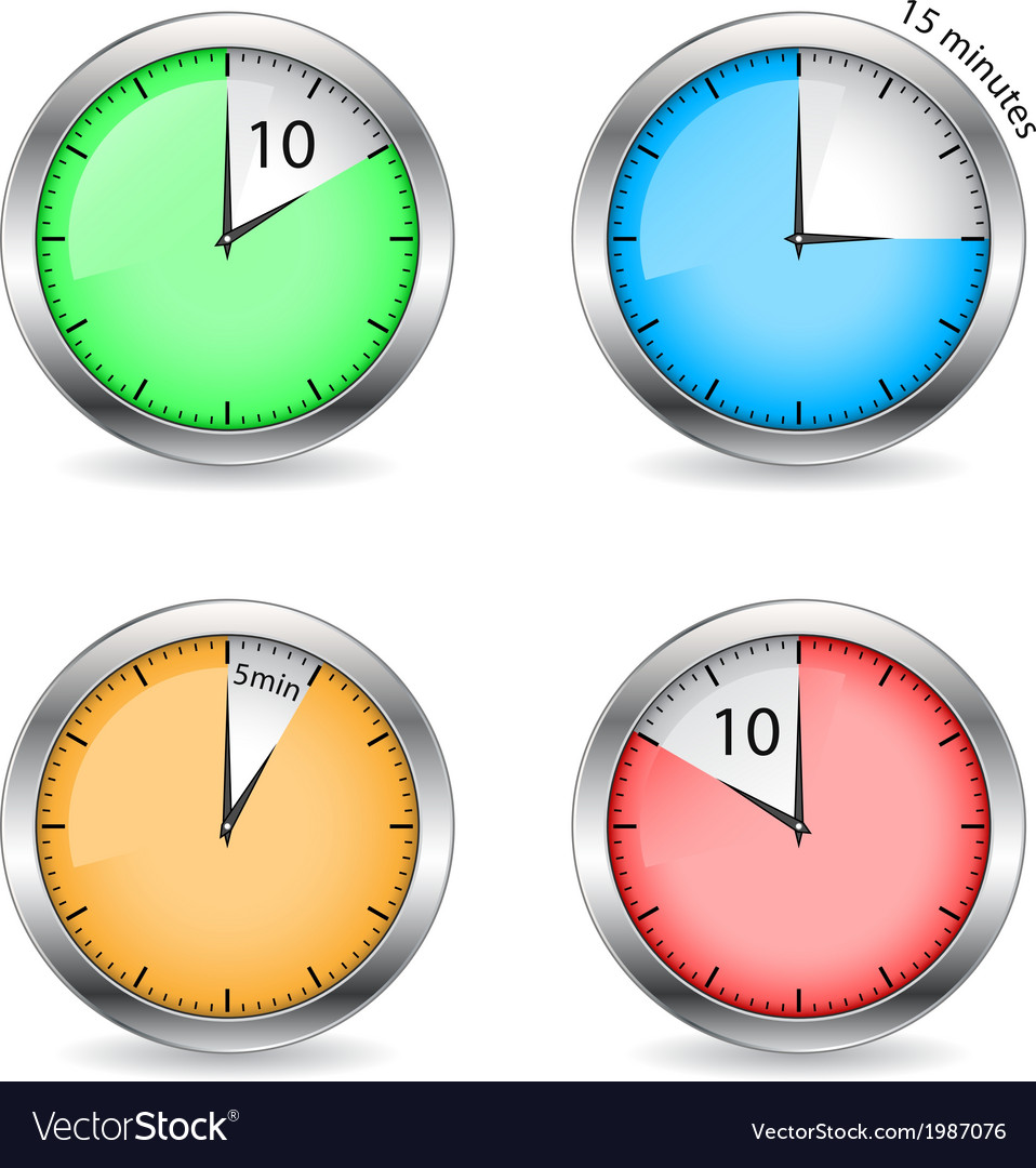Timers vector | Price: 1 Credit (USD $1)