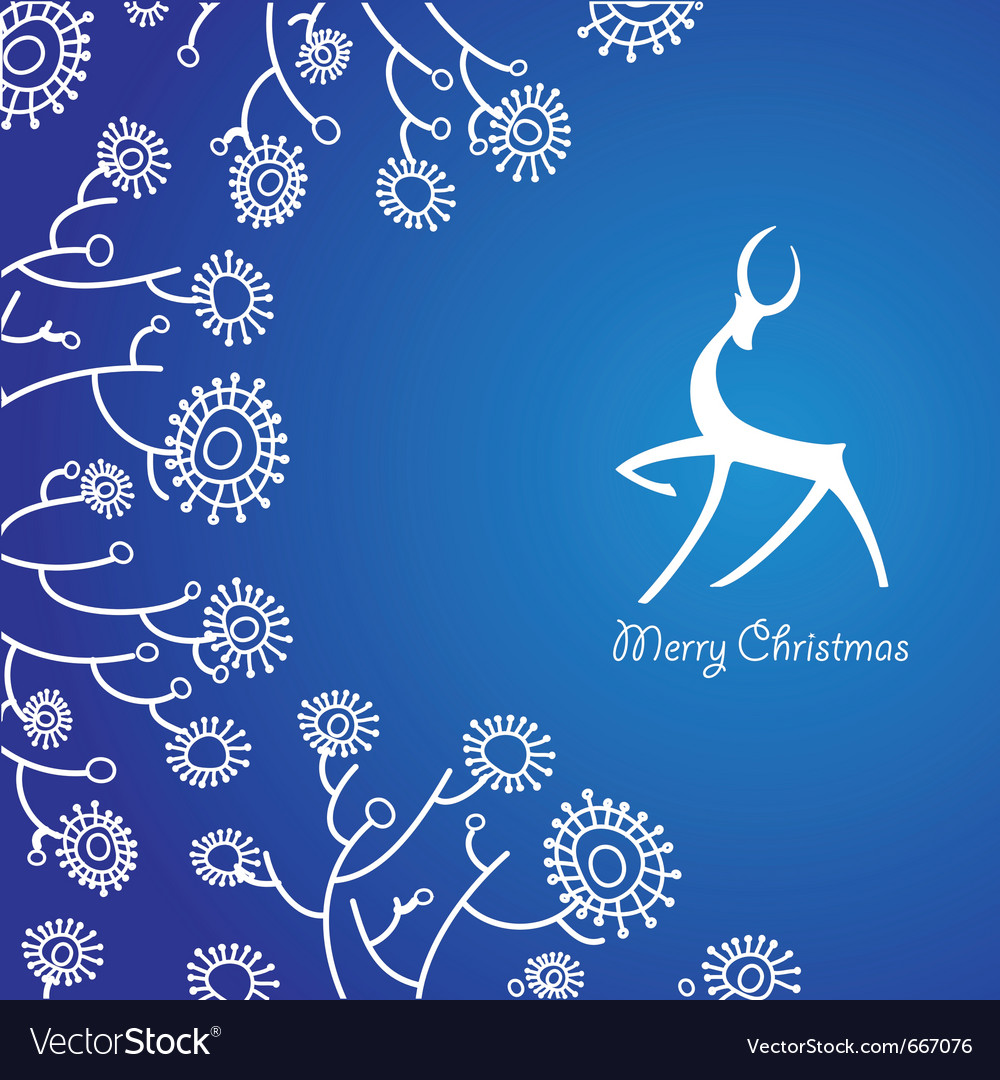 Traditional christmas card vector | Price: 1 Credit (USD $1)