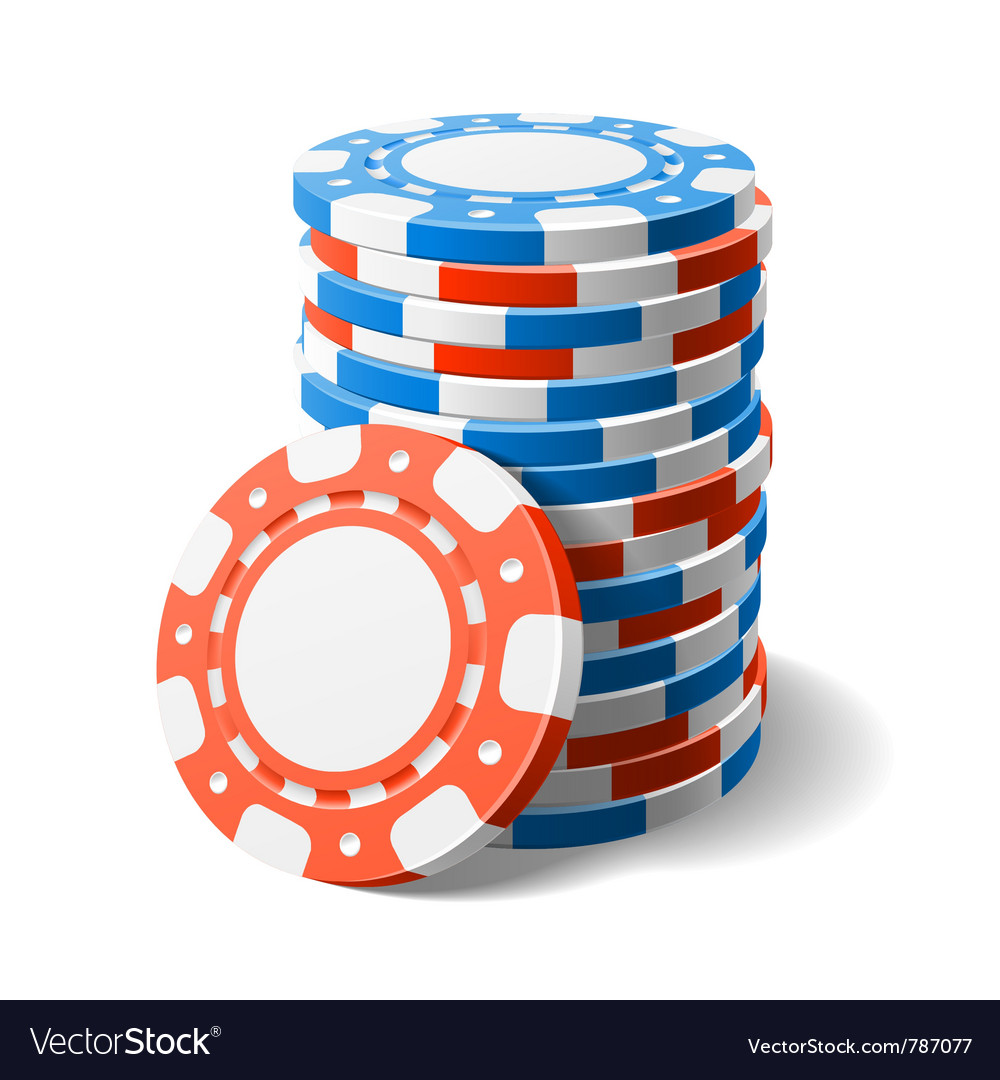 Casino chips vector | Price: 3 Credit (USD $3)