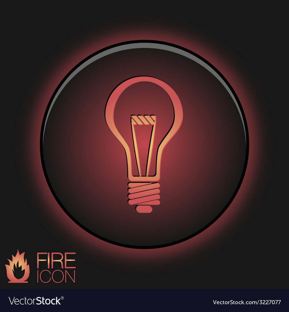 Lightbulb character ideas incandescent lamp icon vector   Price: 1 Credit (USD $1)