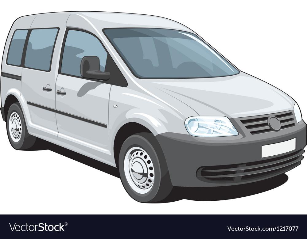 Minivan vector | Price: 3 Credit (USD $3)