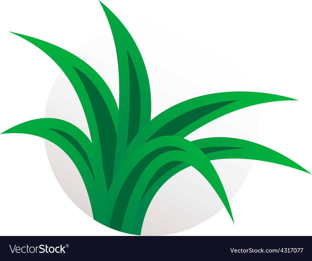 Simple aloe vera plant logo herbal sign vector | Price: 1 Credit (USD $1)
