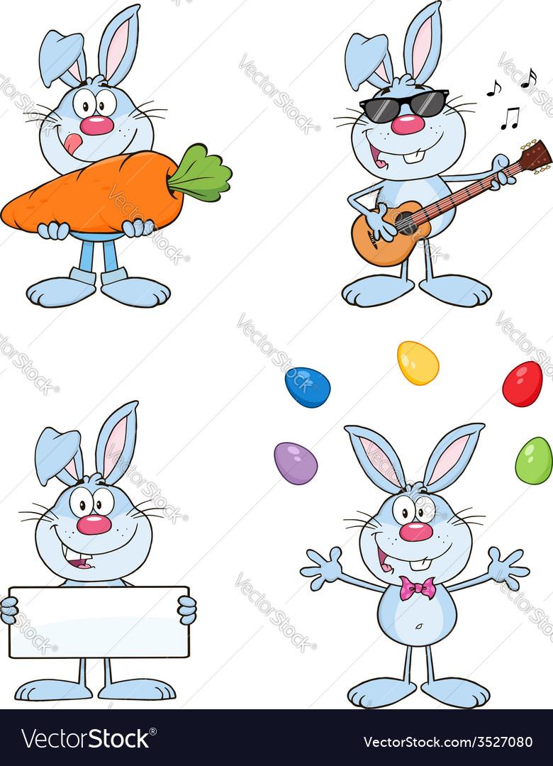 Cartoon rabbit design vector | Price: 1 Credit (USD $1)