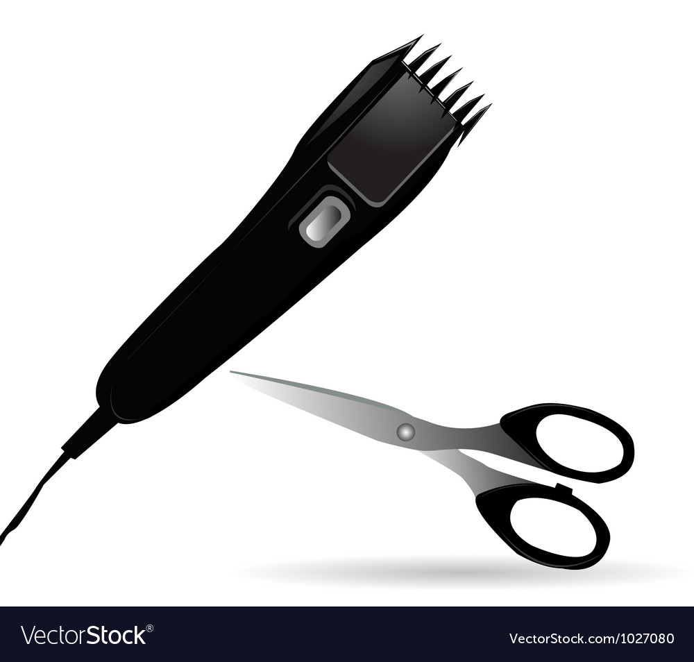 Hair trimmer vector | Price: 1 Credit (USD $1)