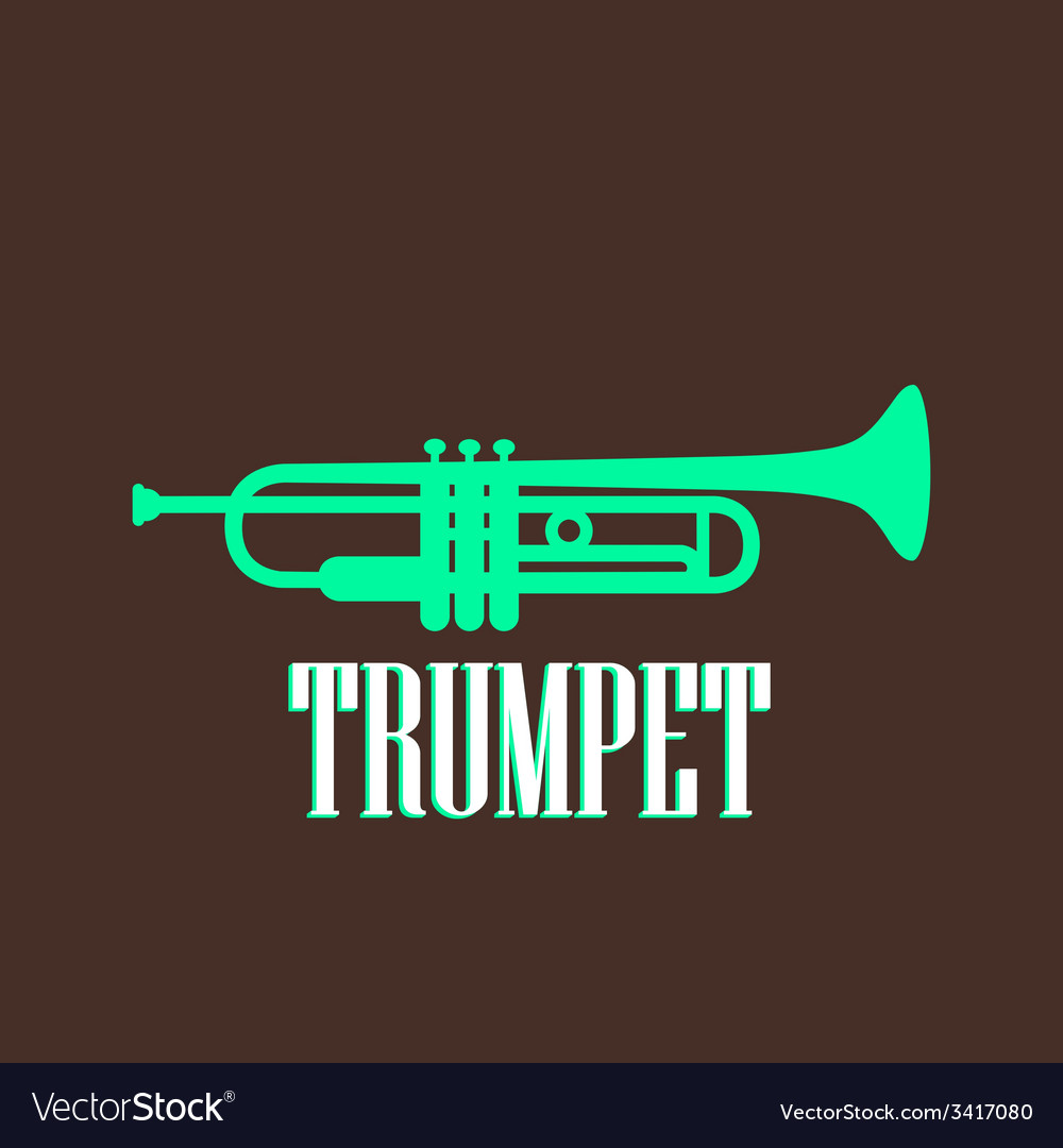Vintage with trumpet vector | Price: 1 Credit (USD $1)