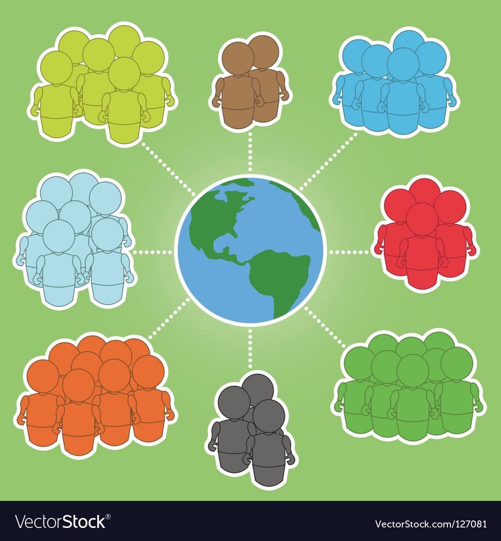 Global communities vector | Price: 1 Credit (USD $1)
