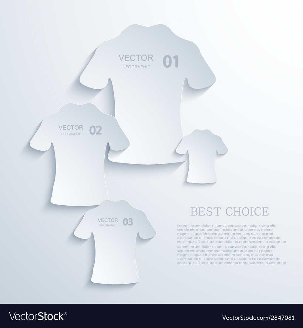 Modern t-shirt background vector | Price: 1 Credit (USD $1)