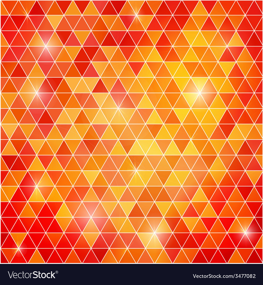 Abstract background of triangular polygons vector | Price: 1 Credit (USD $1)