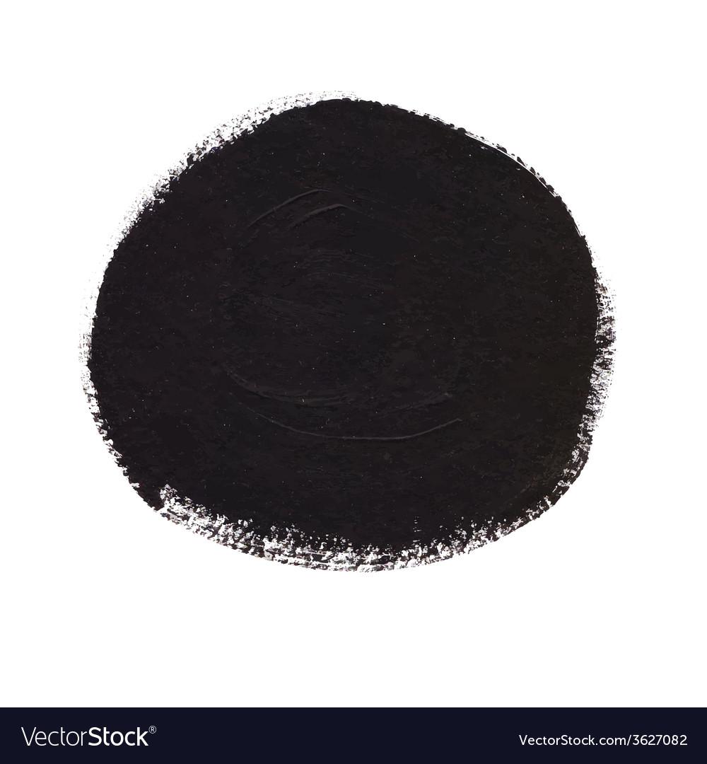 Black circle acrylic banner vector | Price: 1 Credit (USD $1)