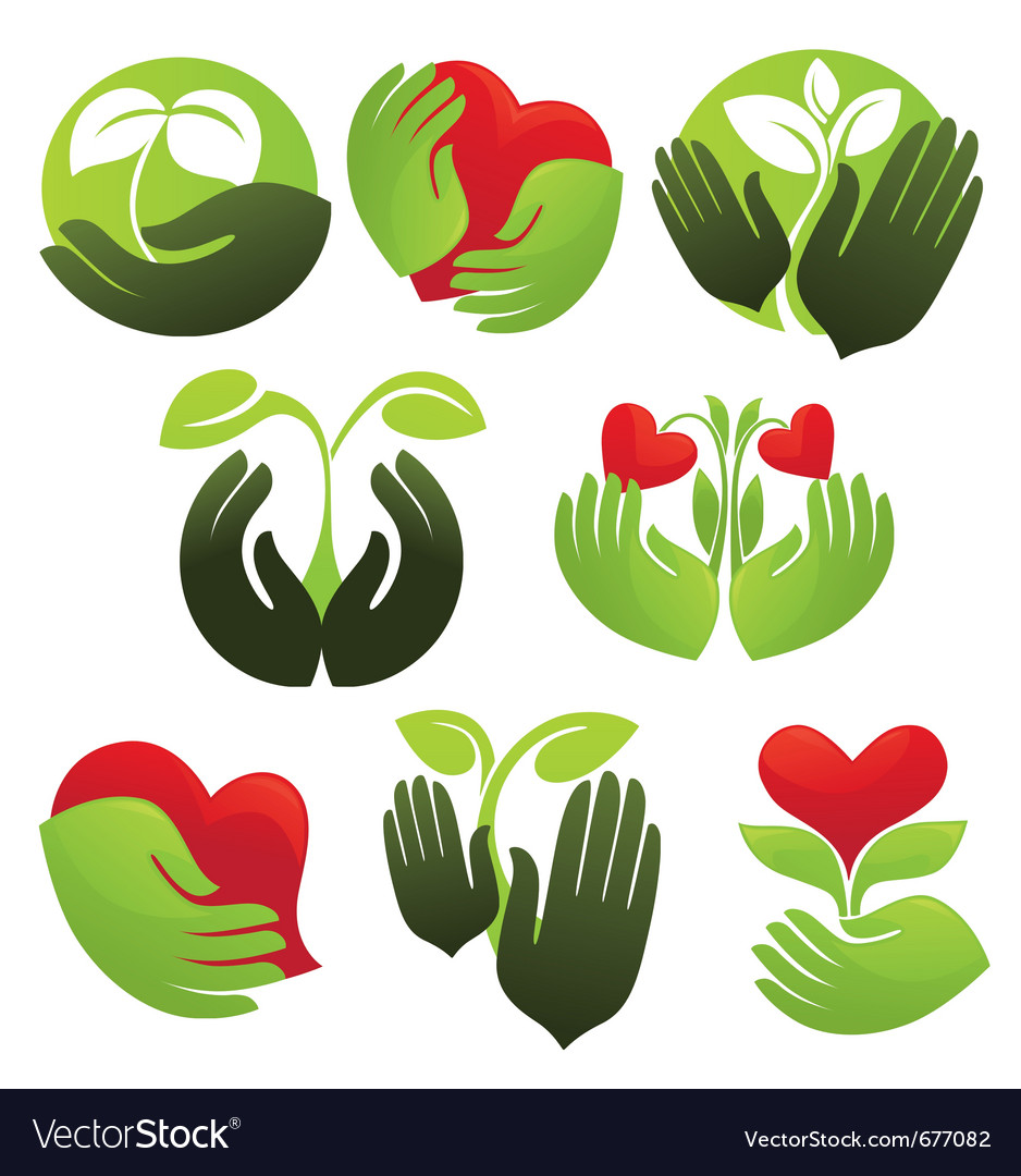 Concept of life and nature vector