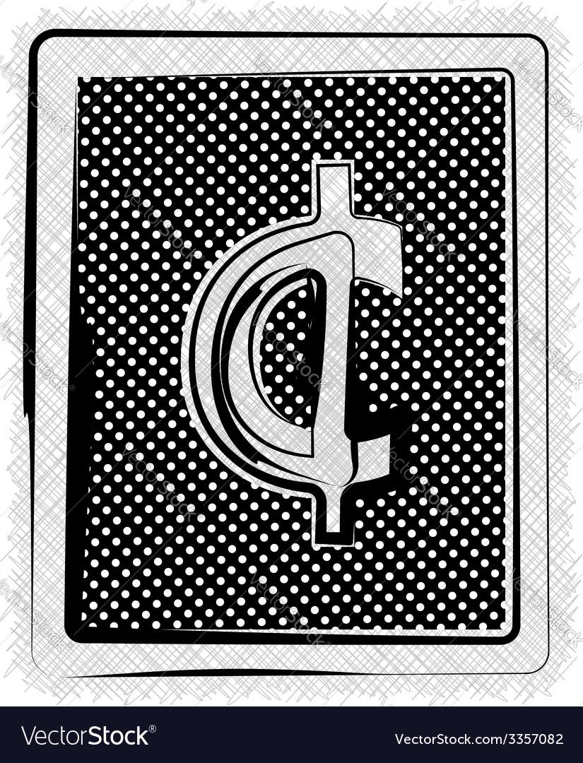 Polka dot symbol vector   Price: 1 Credit (USD $1)