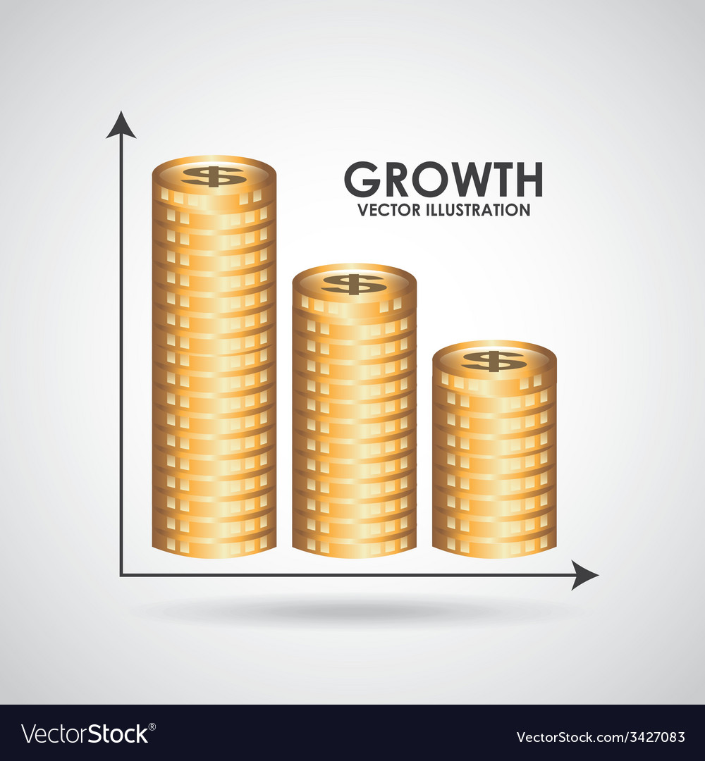 Growth design vector | Price: 1 Credit (USD $1)