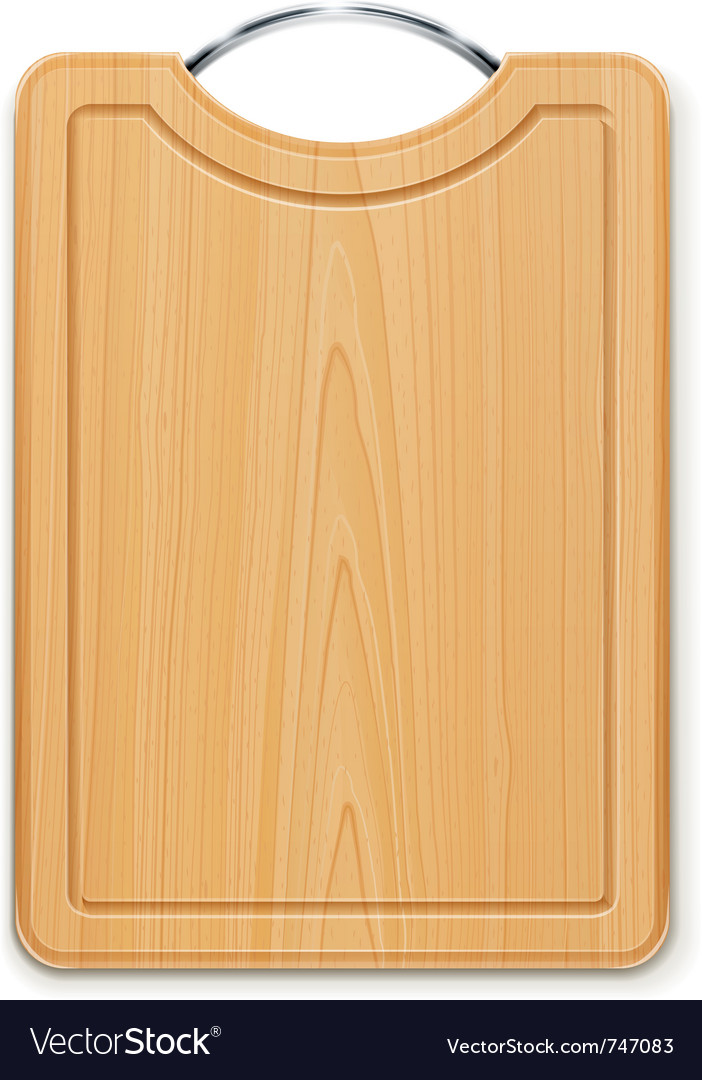 Kitchen cutting board with vector | Price: 1 Credit (USD $1)