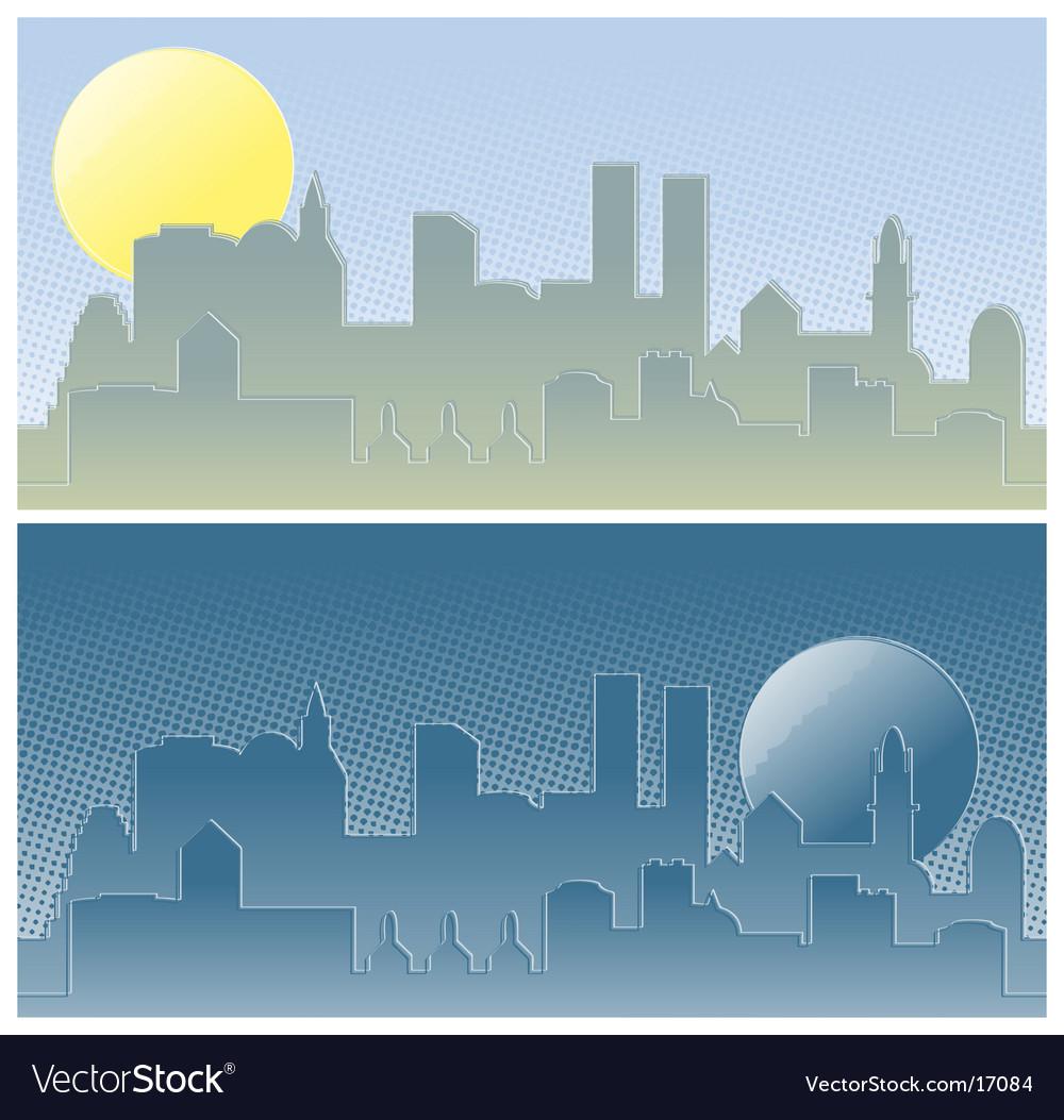 A city vector | Price: 1 Credit (USD $1)