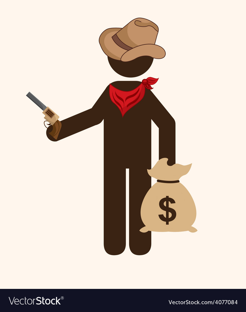 Old west vector | Price: 1 Credit (USD $1)