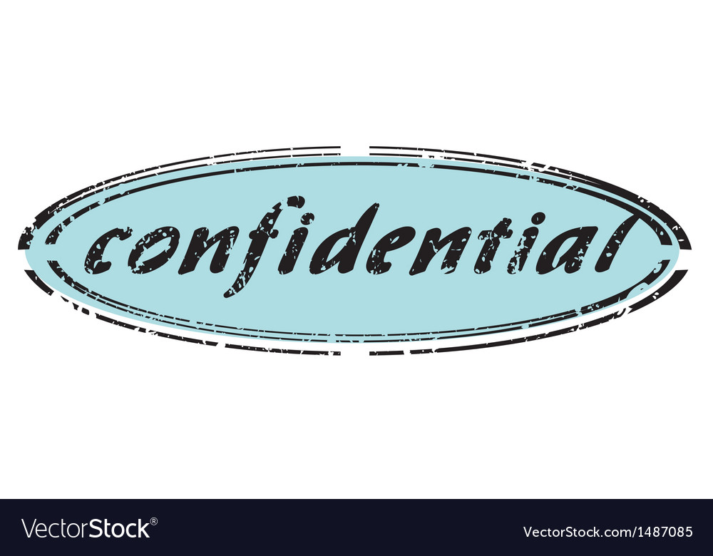 Confidential vector | Price: 1 Credit (USD $1)
