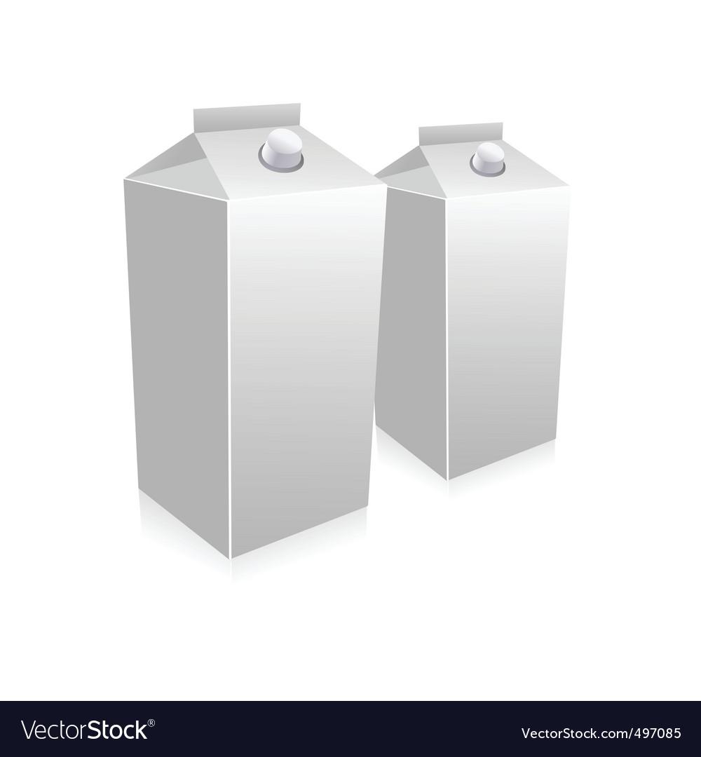 Milk carton vector   Price: 1 Credit (USD $1)