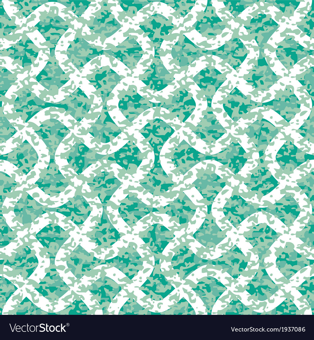 Interlocking distressed zigzag lines vector | Price: 1 Credit (USD $1)