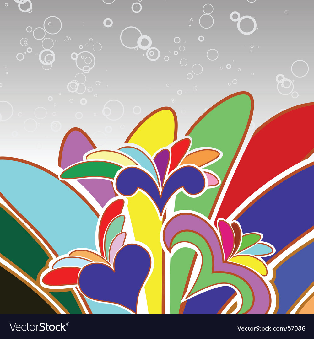 Multicolor abstract background vector | Price: 1 Credit (USD $1)