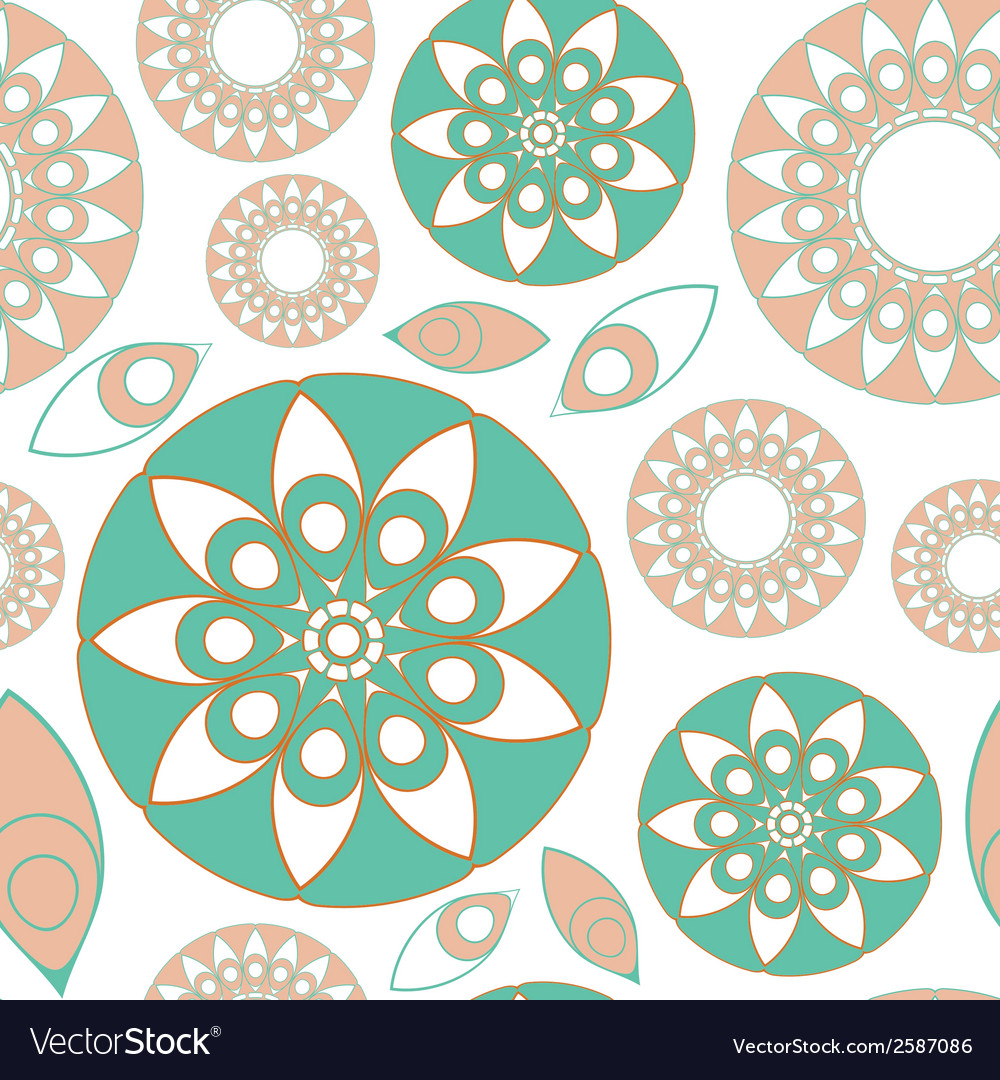 Seamless folk pattern vector | Price: 1 Credit (USD $1)