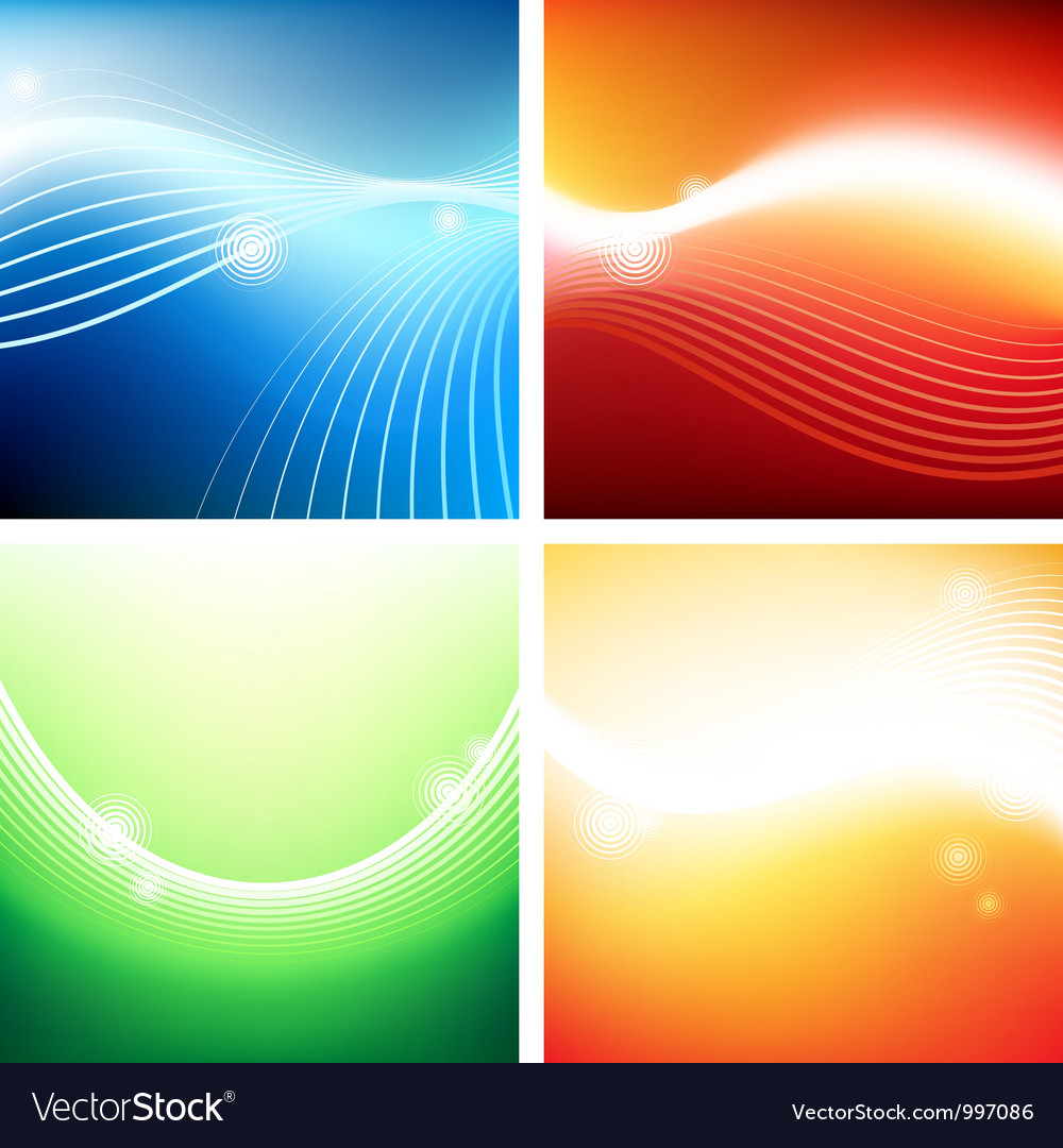 Vivid backgrounds of streams vector | Price: 1 Credit (USD $1)