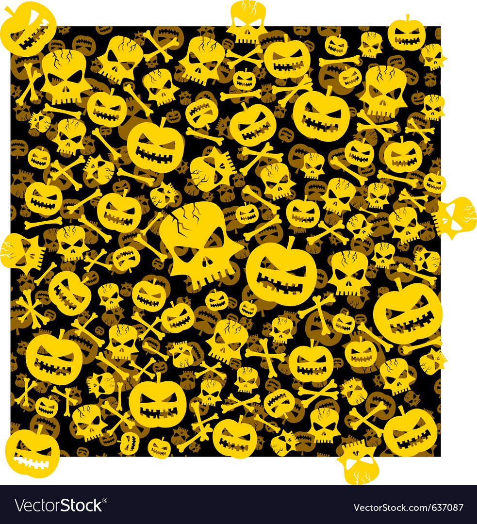 Halloween wallpaper vector | Price: 1 Credit (USD $1)