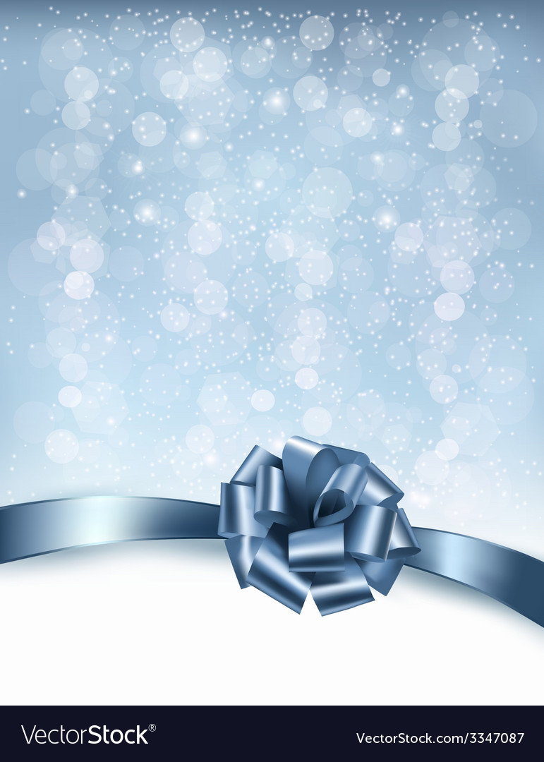 Holiday background with gift glossy bows and vector   Price: 3 Credit (USD $3)