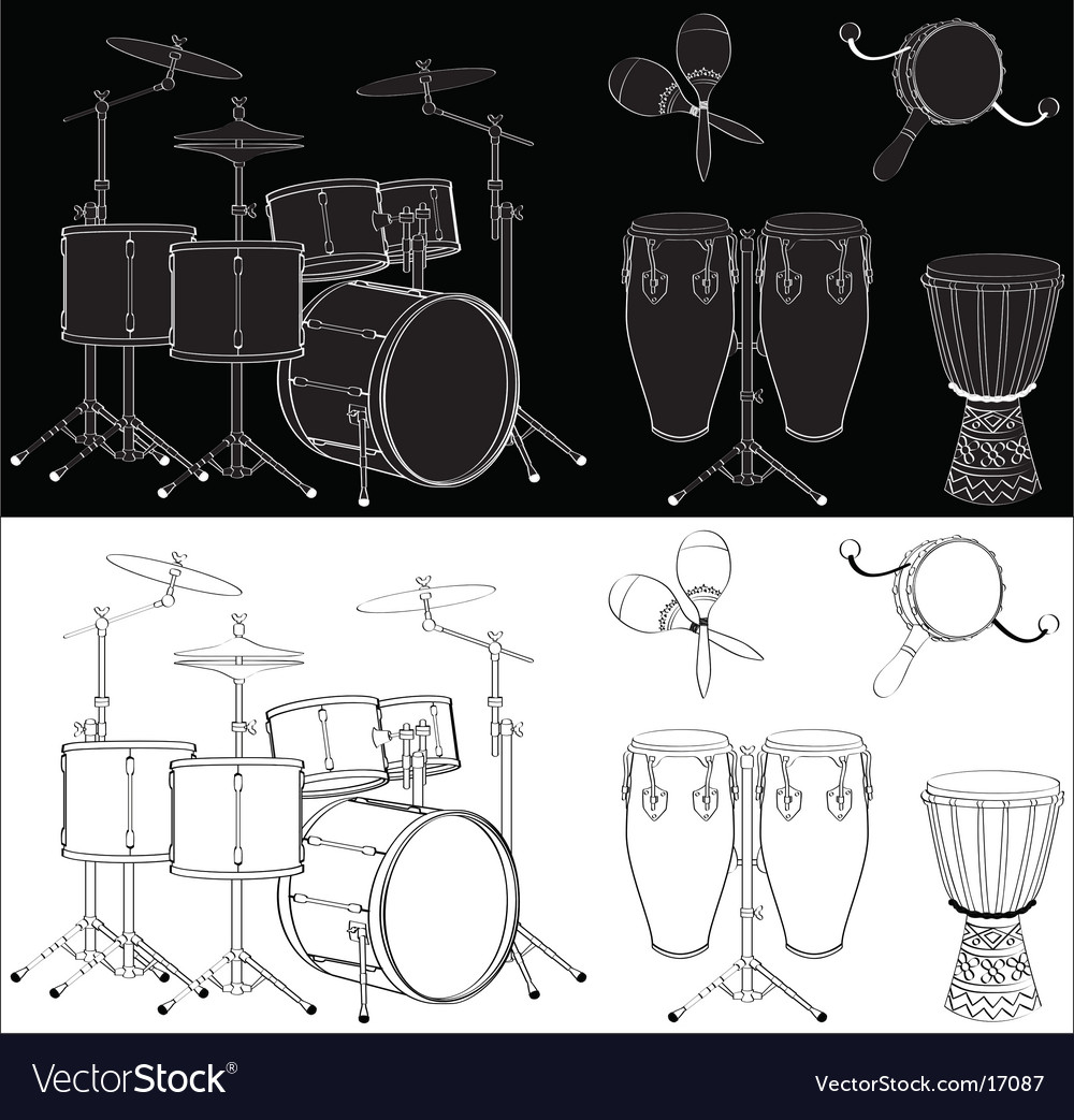 Percussion vector | Price: 1 Credit (USD $1)