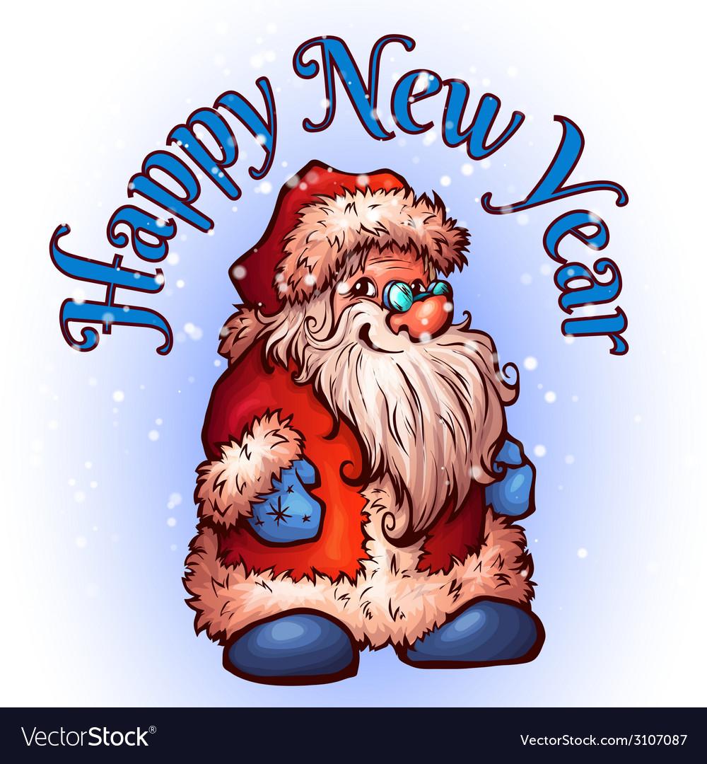 Sketch of santa claus christmas vector   Price: 1 Credit (USD $1)