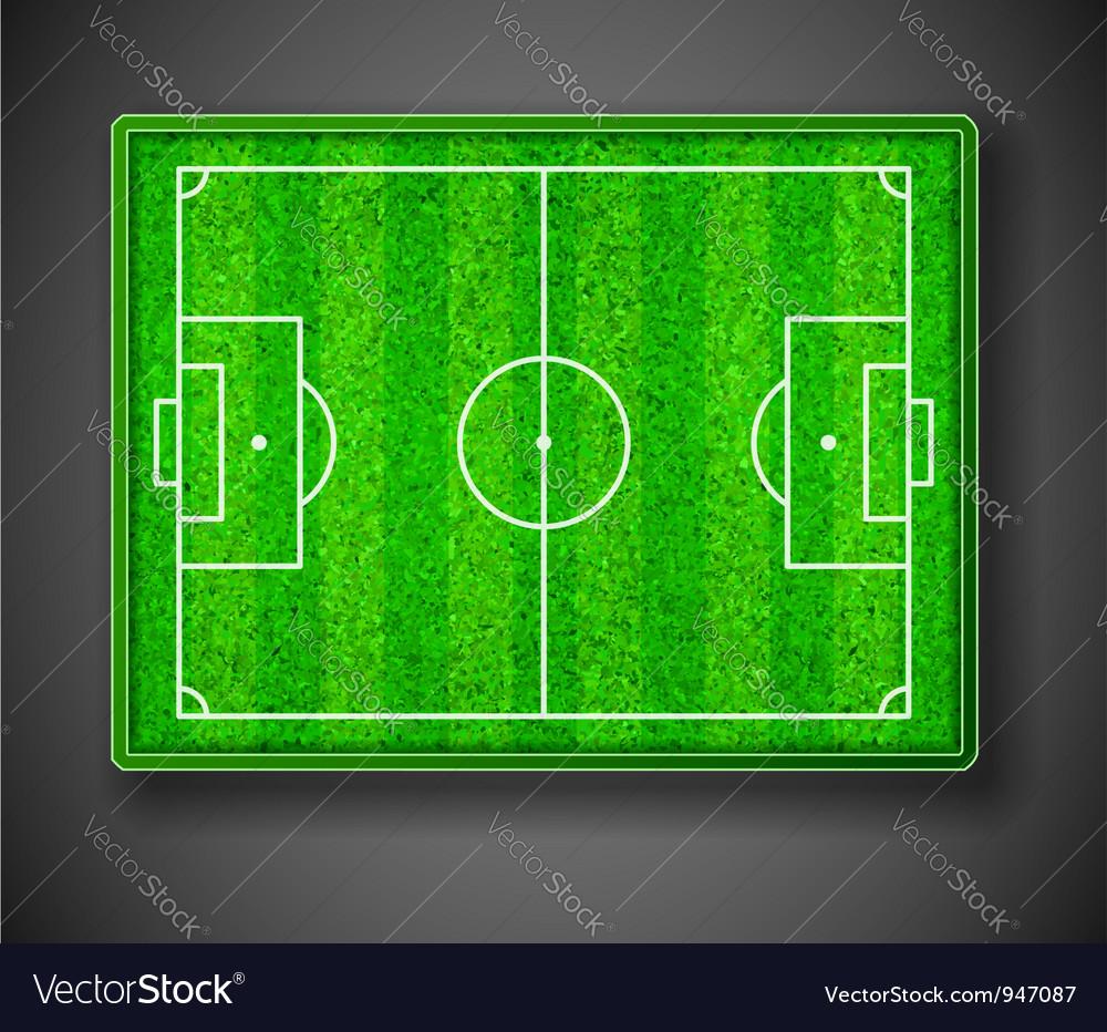 Soccer stadium vector | Price: 1 Credit (USD $1)