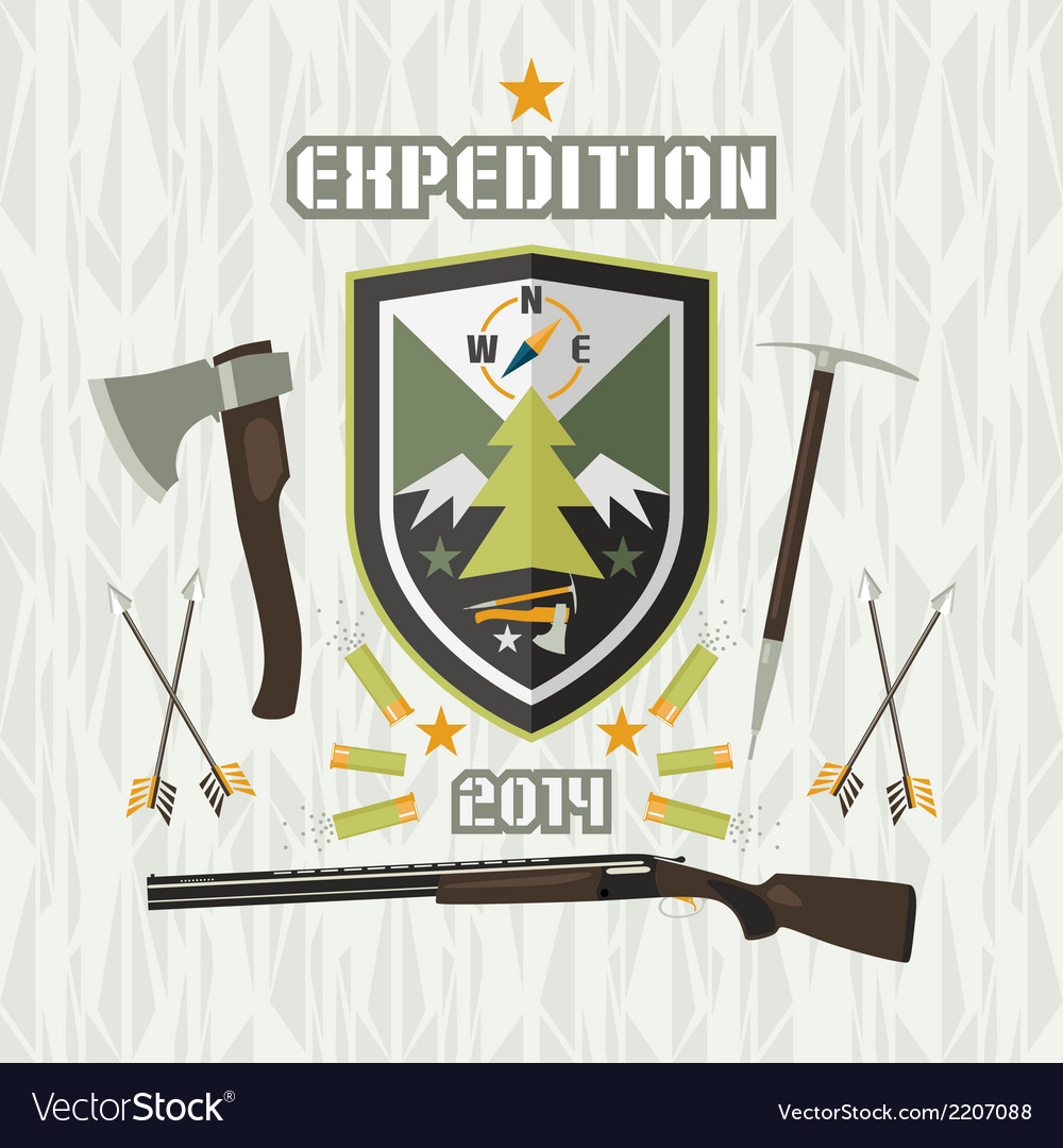 Expedition emblem vector | Price: 1 Credit (USD $1)