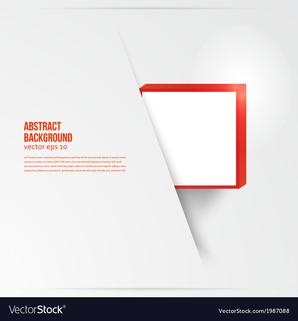 Square abstract background card red vector   Price: 1 Credit (USD $1)